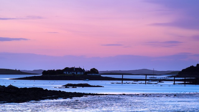 Strangford Lough sunset