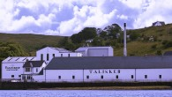 Talisker distillery on Skye
