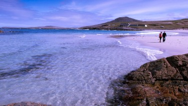 Tangastle Beach on Barra