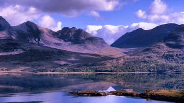 Discover glassy lochs and mountain views