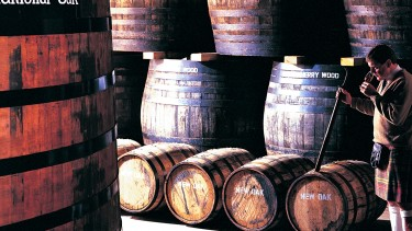 Glenfiddich casks