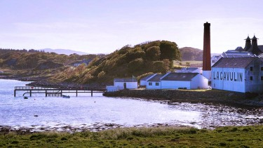 Lagavulin Distillery on Islay