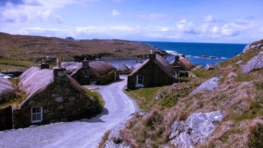 Blackhouse Village on Lewis