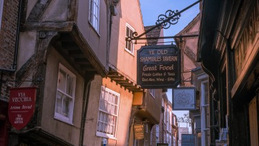 York's most famous street 'The Shambles'