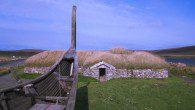 Viking Longhouse on Shetland