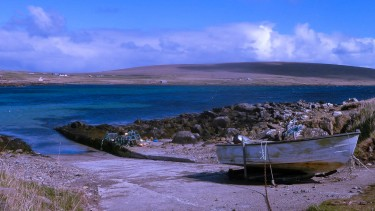 Boat on Unst