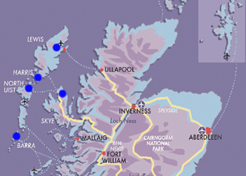 Map fly-drive-through-western-isles