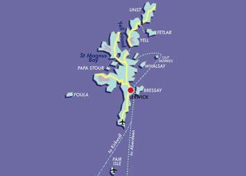 Map Shetland