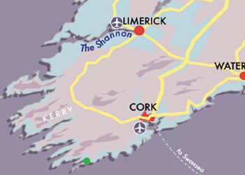Map west cork wildlife
