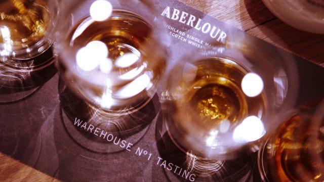 Enjoy a dram of Aberlour