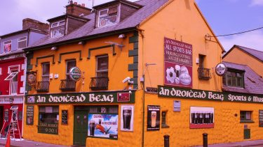 One of Dingle's colourful buildings