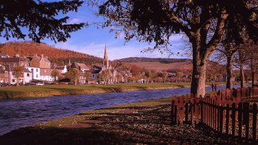 River Tweed, Peebles