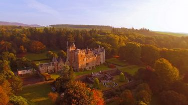 Upgrade and stay in a luxury Scottish castle