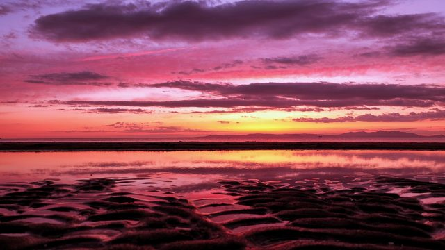 Ayrshire sunset