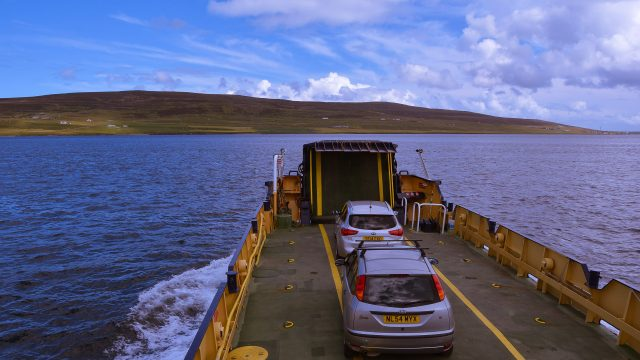 Orkney ferry to Rousay