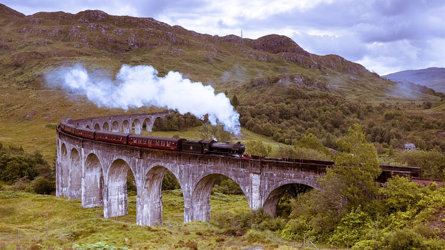 Railways Holidays In Scotland  West Highland Line Experience