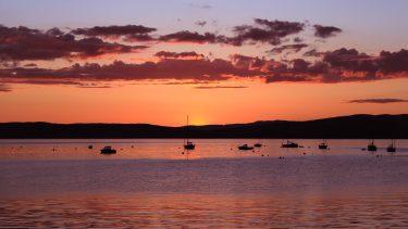 Lochranza sunset