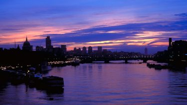 River Thames at Dawn
