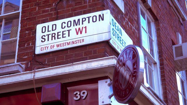 Old Compton Street, SoHo