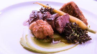 Trio of Lamb at Glenmorangie House