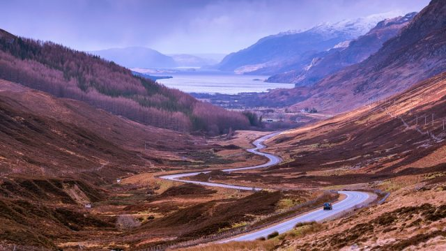 Road to Kinlochewe, North Coast 500