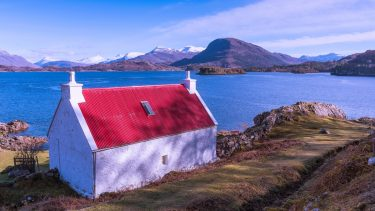 Shieldaig cottage, North Coast 500