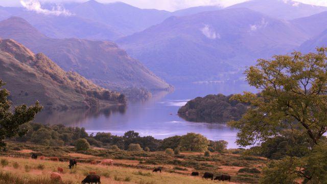 Dreamy Ullswater Lake