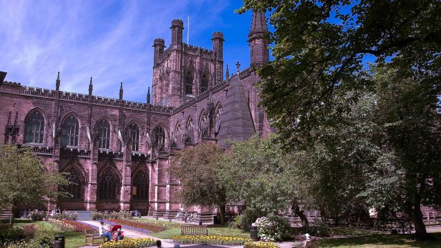 Chester's historic cathedral