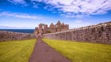 Dunluce Castle, Causeway Coast by Caspar Diederik