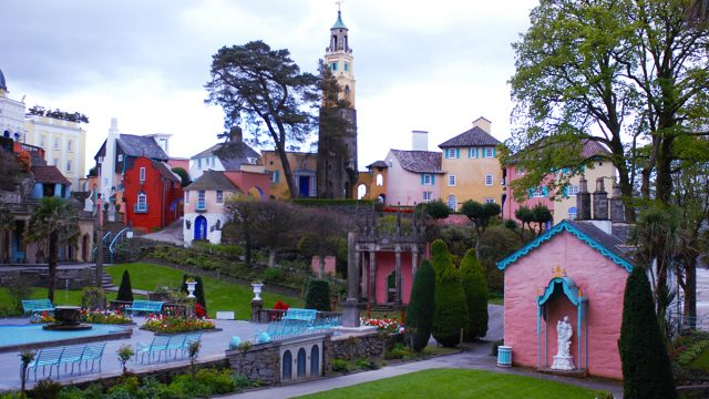 Walk the streets of Portmeirion after hours