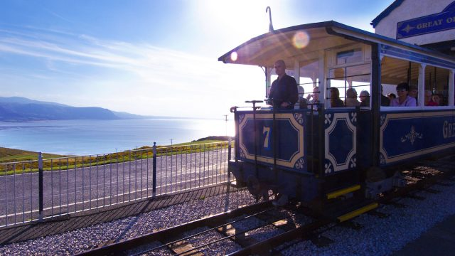 Great Orme Tramway - Crown copyright Visit Wales