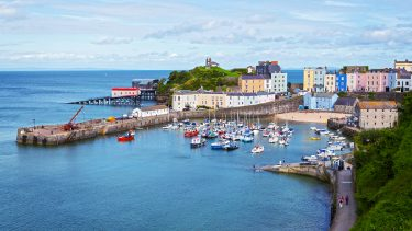 Tenby Harbour - Crown copyright Visit Wales