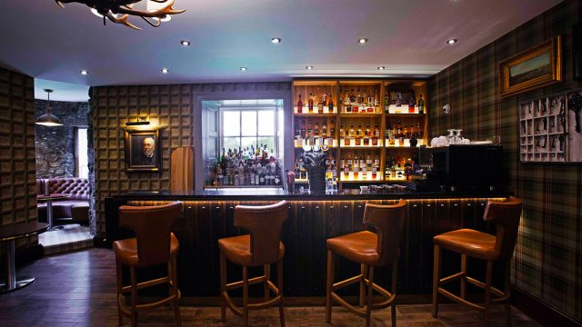 Enjoy an evening dram in your luxurious country hotel