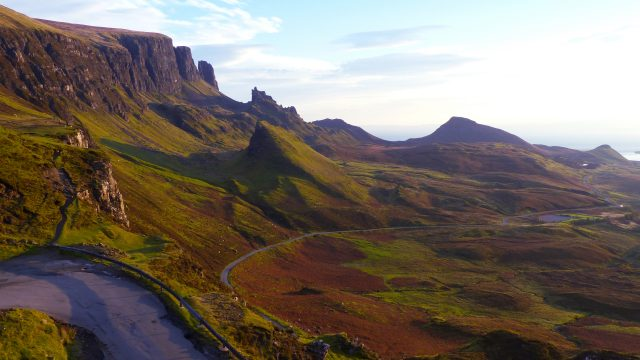 Admire the Quiraing on the Isle of Skye