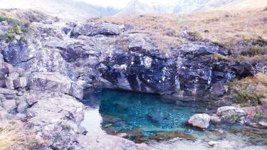 Skye's famous Fairy Pools