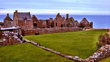 Explore haunting castle ruins in Aberdeenshire