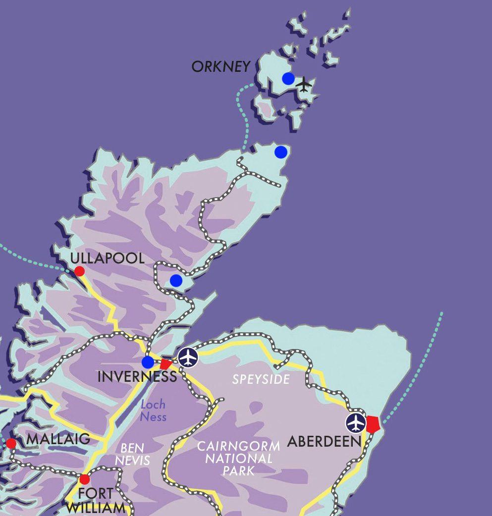 Scottish Highlands, Orkney