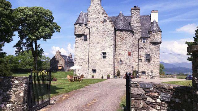 Barcaldine Castle, Oban