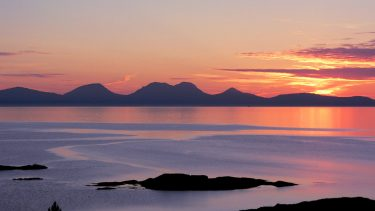 Sunset on the Isle of Jura