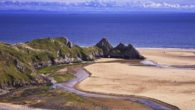 Three Cliffs Bay, Gower © Crown copyright (2019) Visit Wales