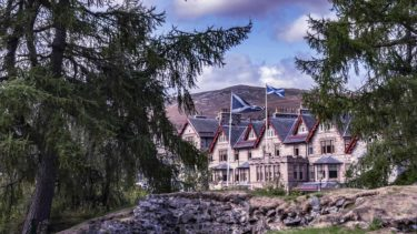 Your spectacular Cairngorms hotel, photo credit Sim Canetty-Clarke