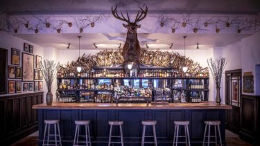 The bar inside your Cairngorms hotel - photo credit Sim Canetty-Clarke