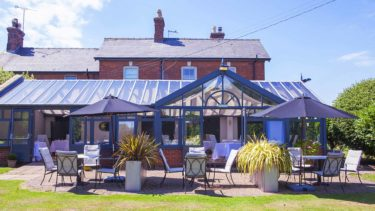 Relax in the secluded garden of your Norfolk hotel