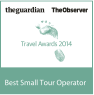 Guardian Travel Awards Winner 2014
